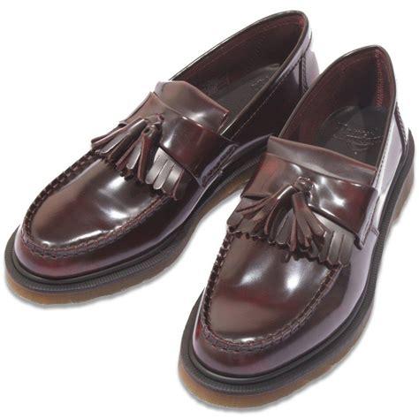 dr martens adrian loafer dr martens classic tassel mod loafer shoe adrian ox blood