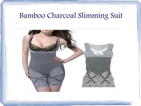 Murah Bamboo Slimming Suit bamboo charcoal slimming suit authorstream
