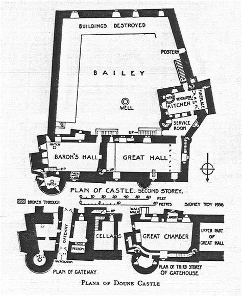 Floor Plans For My House doune castle