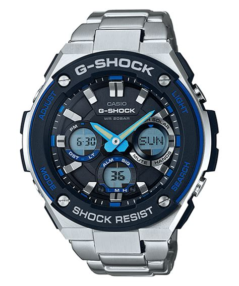 Casio Original Pria G Shock Gst S100d 1a2 g shock g steel gst s100 and gst s110 all models g central g shock