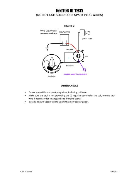 pertronix ignition wiring diagram for vw new wiring