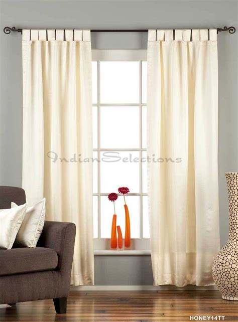 cream colored blackout curtains cream tab top 90 blackout curtain drape panel piece
