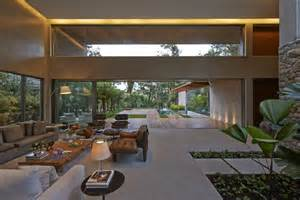home design inside outside brazil house with luxe garden and outdoor living layout modern house designs