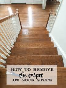 Removing Carpet From Stairs 17 Best Ideas About Carpet Stair Runners On