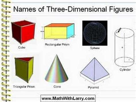 How To Make A 3 Dimensional Cube Out Of Paper - for lesson 22 names of three dimensional figures