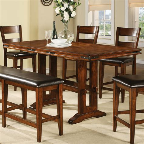 counter height dining table sets with butterfly leaf winners only dmgt3678 mango counter height dining table