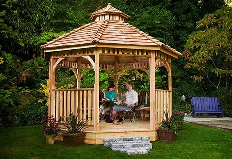 gazebo kit cedar gazebo kits for sale outdoor living today