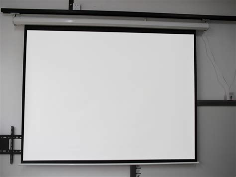 Screen Projector motorized electric auto projector projection screen 100 quot 16 9 4 3 display hd ebay