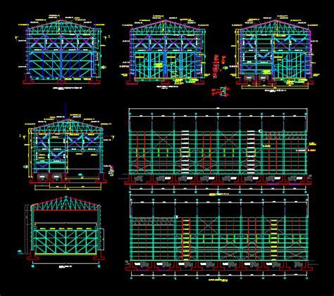 warehouse layout dwg 199 elik yapı depo autocad projesi