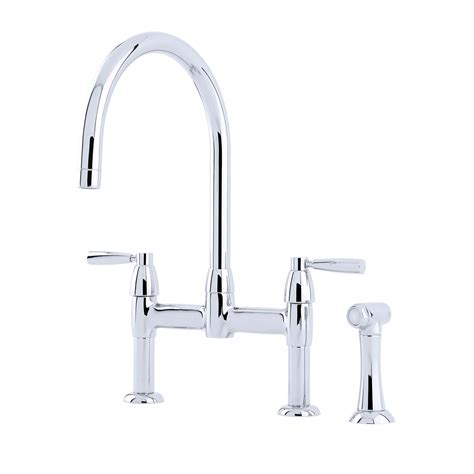 perrin and rowe io 2 hole sink mixer kitchen faucet for