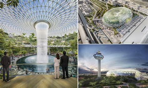 singapores jewel changi airport  boast largest indoor