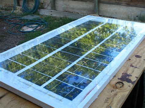 how to build solar energy system 63 watt solar panel