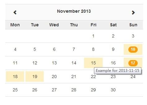calendar layout js jquery ajax enabled month calendar plugin with bootstrap