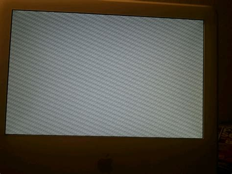 reset nvram g4 mac how to fix an unusable imac g4 monitor plagued by
