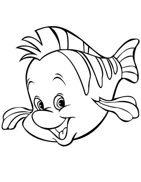 10 images about disney coloring pages on pinterest disney preschool coloring pages fish cartoon coloring