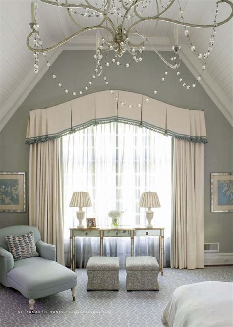 bedroom valances for windows 25 best ideas about arched window treatments on pinterest