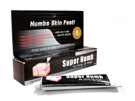 super numb tattoo numbing cream reviews super numb cream super numb skin numbing cream skin