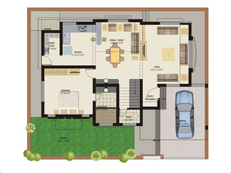 luxury bungalow floor plans new gujarat home plans photo modern house