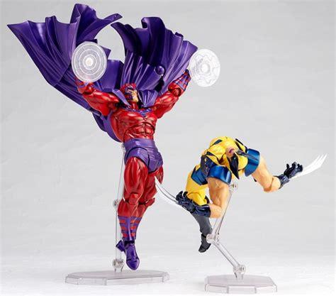 Figure X Xmen Magneto Marvel revoltech magneto figure up for order hi res photos