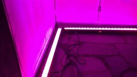 dj led light bar white dj facade with led light bar lighting