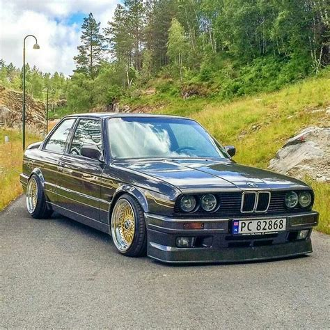 Bmw E30 3 Series Grey Slammed Bmw E30 Pinterest Bmw
