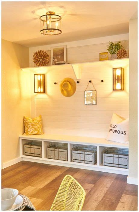 modern entryway ideas  bench jessica paster