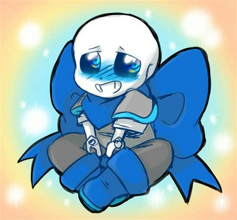 underswap blueberry sans look so undertale and