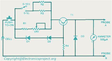 how to read micro resistors ohm meter electronics project
