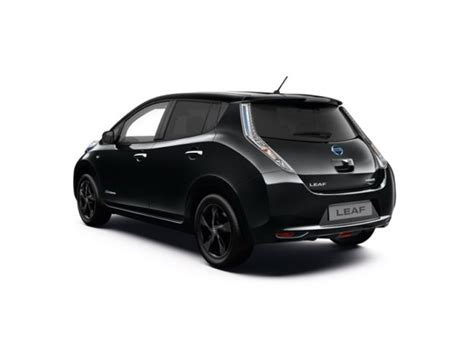 leaf nissan black nissan leaf black edition now on sale in uk gas 2