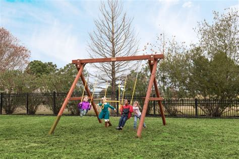 stand alone swings swingsets and playsets nashville tn 8 foot stand alone