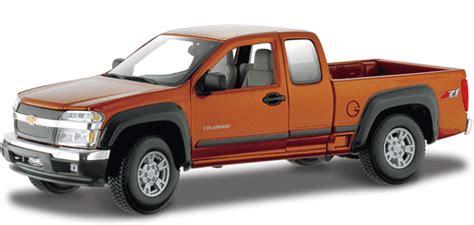 Diecast Jeep Chevy Stepside 4x4 Big Foot 2004 chevy colorado z71 orange maisto 1 18 diecast car scale model