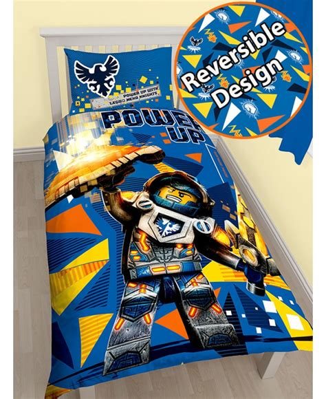 Boys Wall Stickers Uk lego nexo knights power single duvet cover and pillowcase