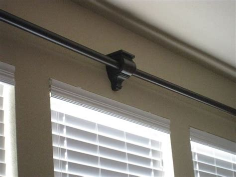 curtain rod sconce large windows curtain rods and sconces on pinterest