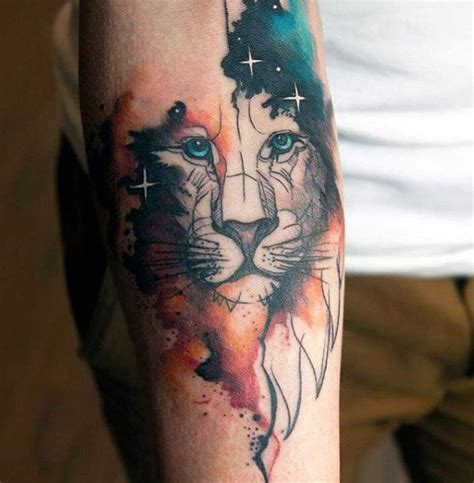 tattoo animal watercolor 100 watercolor tattoo designs for men cool ink ideas
