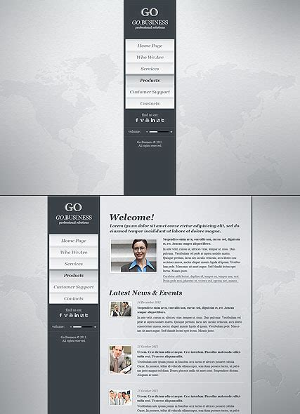 28 html5 business templates dstar premium html5