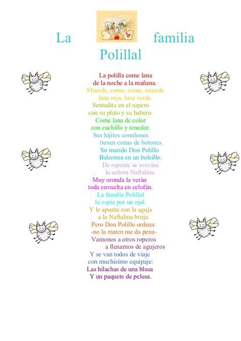 poema familia 1 jpg la familia polillal por mauro y camila
