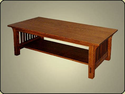 coffee table style wood project ideas buy woodworking plans for mission