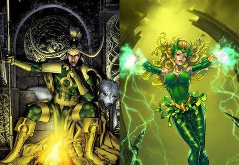 thor film enchantress enchantress and loki vs silver surfer battles comic vine