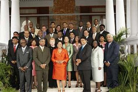 Cabinet Of And Tobago by Jyoti Communication T T Cabinet Meets In Tobago Followed