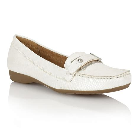 Naturalizer Shoes by Naturalizer Gisella D2426 S White Iguana Shoes