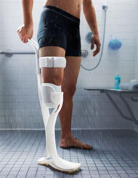 Legs In The Shower by Lytra Shower Prosthetic Leg Cool Wearable