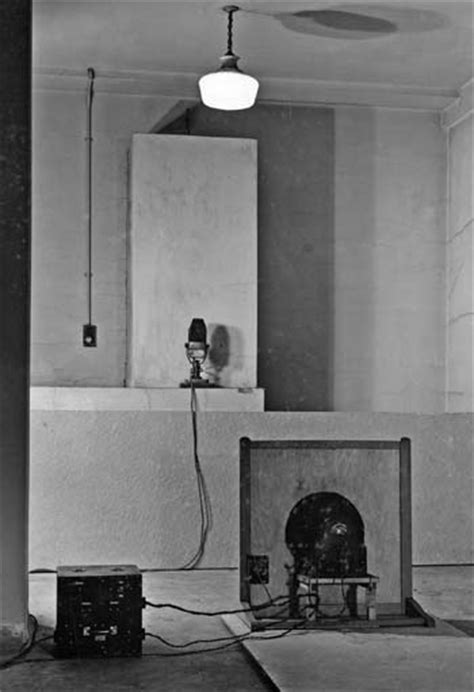 room echo the basement of broadcasting house in the 1930s