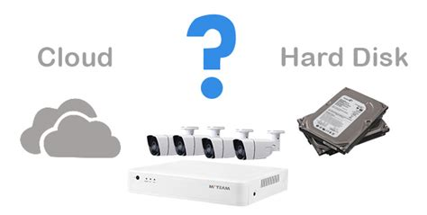 disk vs cloud storage how to choose for surveillance system