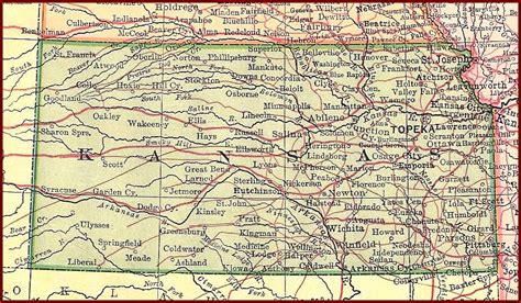 map of kansas perry castaeda library map collection ut library
