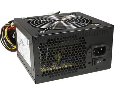 Power Supply Power Up 500 Watt 550 watt i3 i5 i7 power supply atx 550
