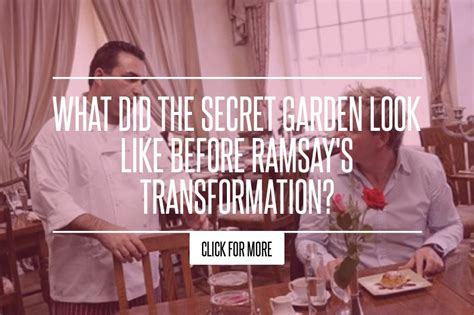 Secret Garden Kitchen Nightmares by What Did The Secret Garden Look Like Before Ramsay S
