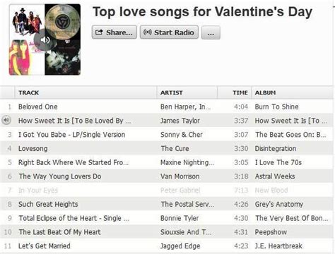 top valentines songs s day playlists favorite songs and