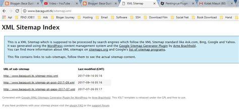 cara membuat web xml baca gusti cara mudah membuat sitemap xml pada website