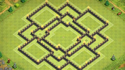 th9 layout new update clash of clans quot new update quot th9 war base coc th9 trophy
