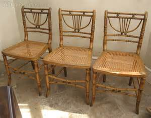 painted faux bamboo furniture regency faux bamboo painted caned chairs antiques atlas